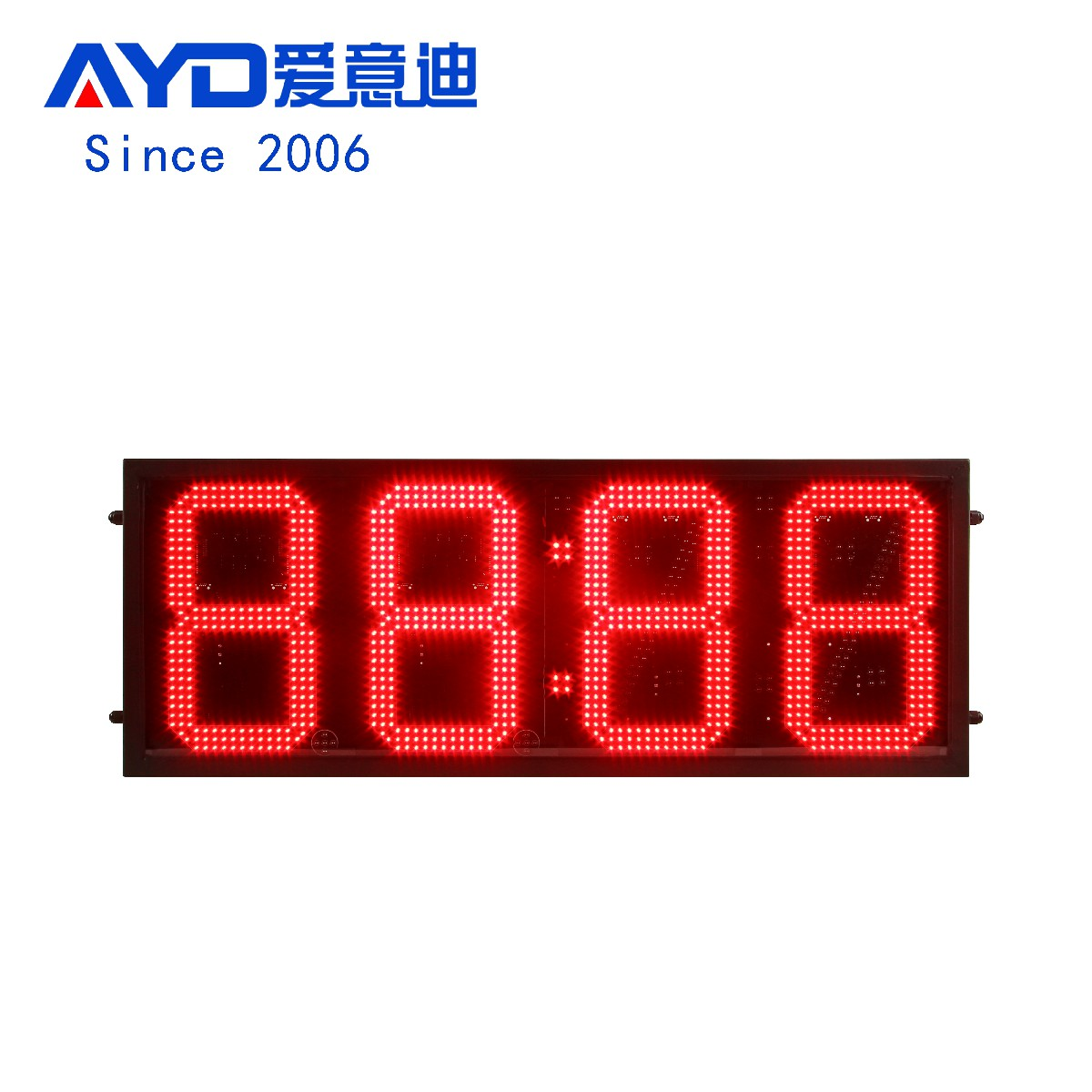 12 Inch LED Countdown Days Display