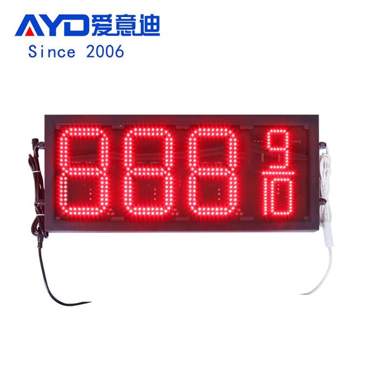 American PWM LED gas price displays