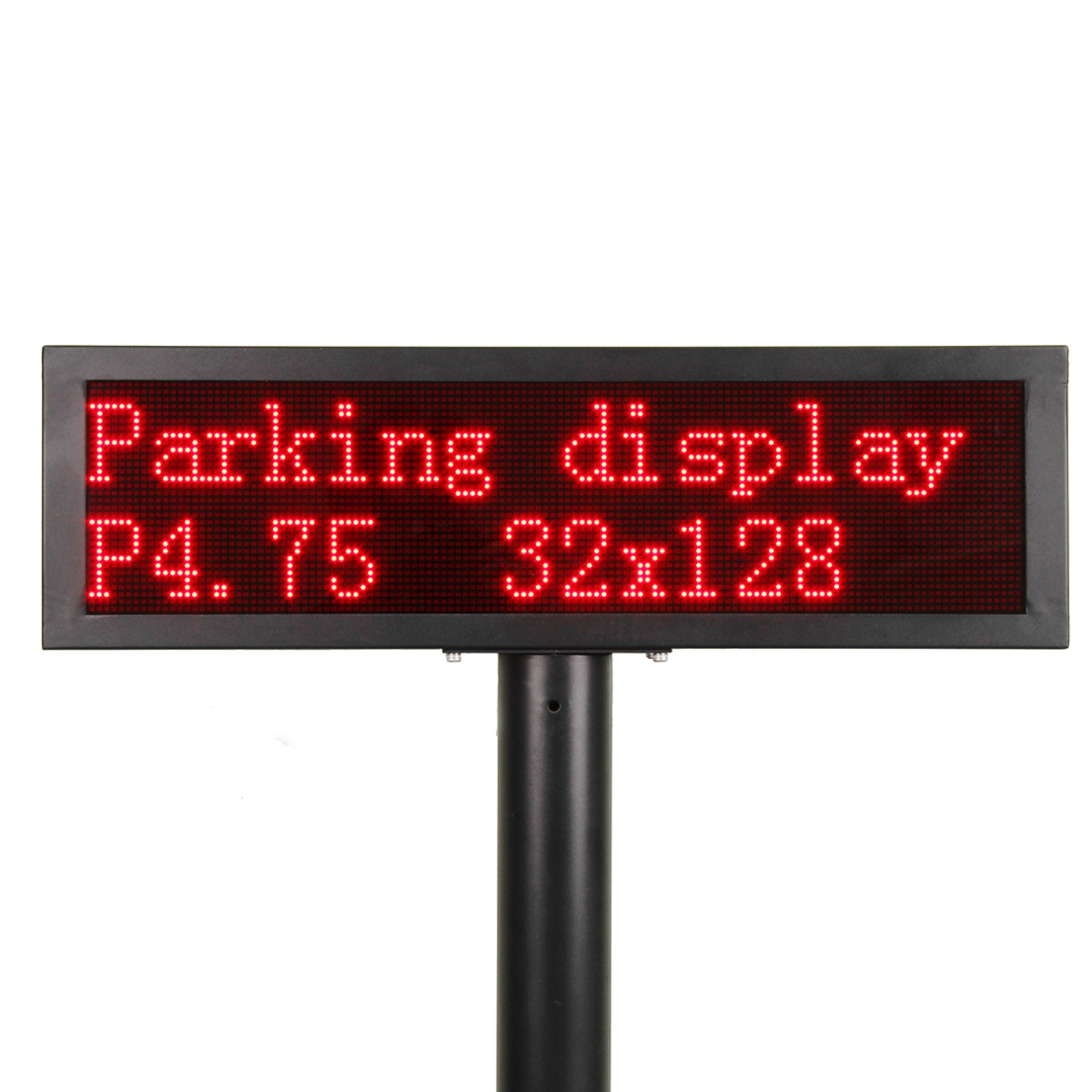 AYD 4.75 Red Parking Garage Signs