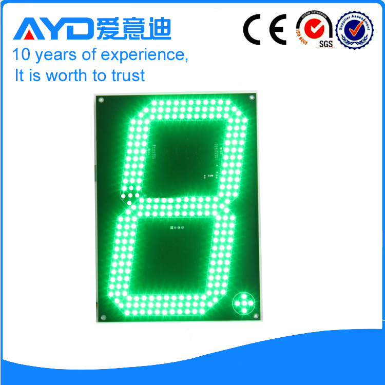 12 Inch Green LED Price Screen Electronic LED Scoreboard