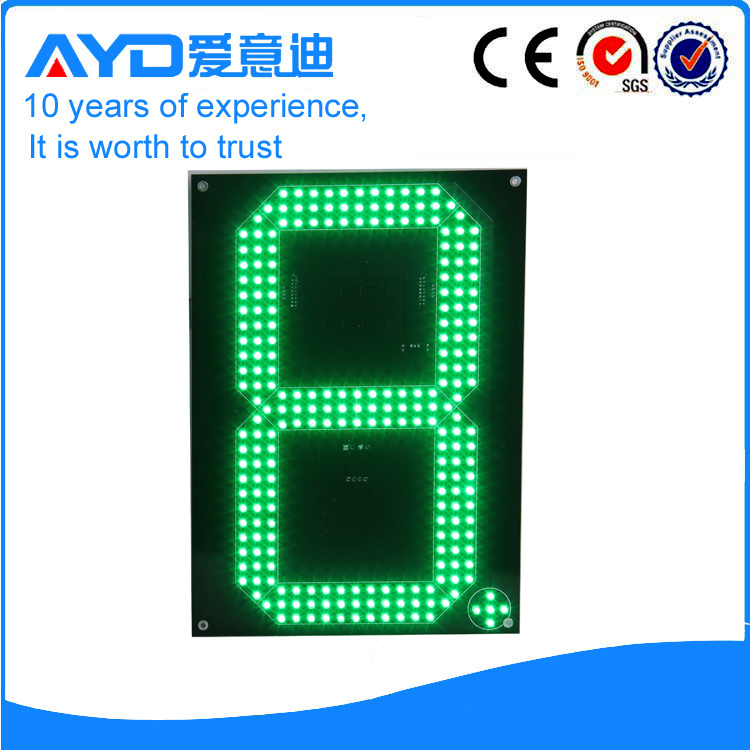 12 Inch Green LED Price Screen
