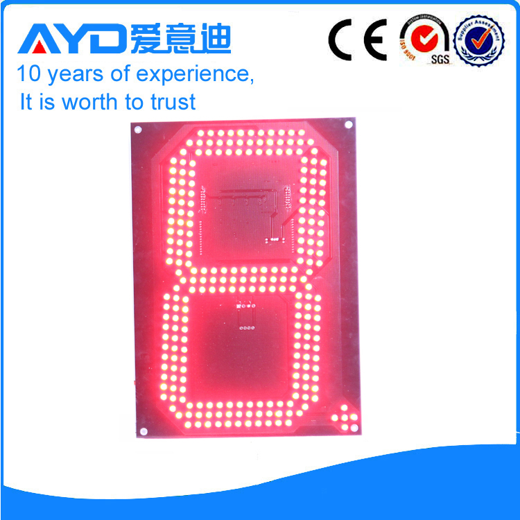 12 Inch Red LED Price Screen