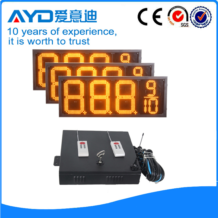 12 Inch Electronics LED Road Sign 7 Segment LED Display for Scoreboard