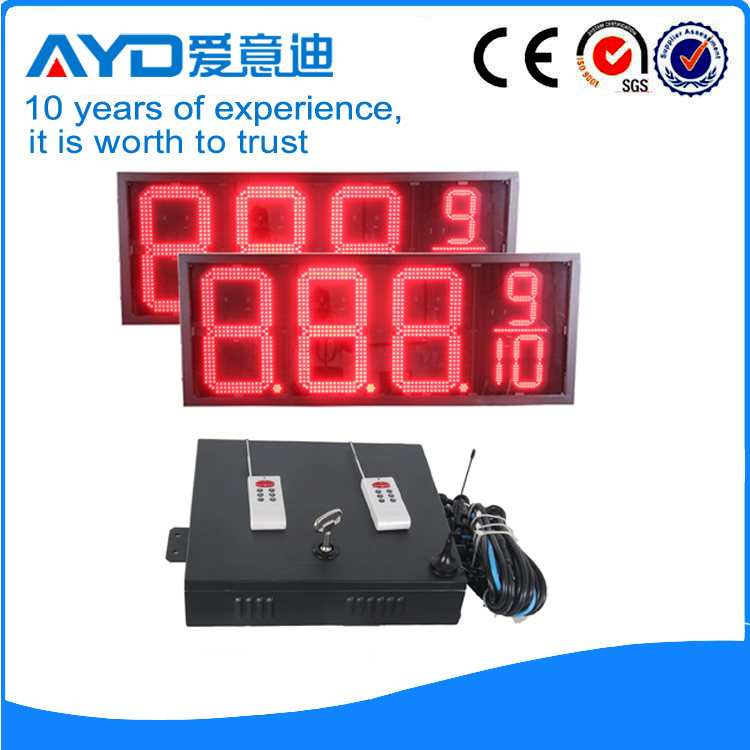 16 Inch Red Price  LED Signs