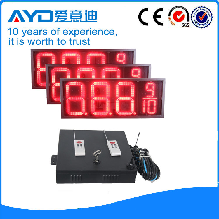 16 Inch Electronics LED Price Sign Outdoor LED Display Screen