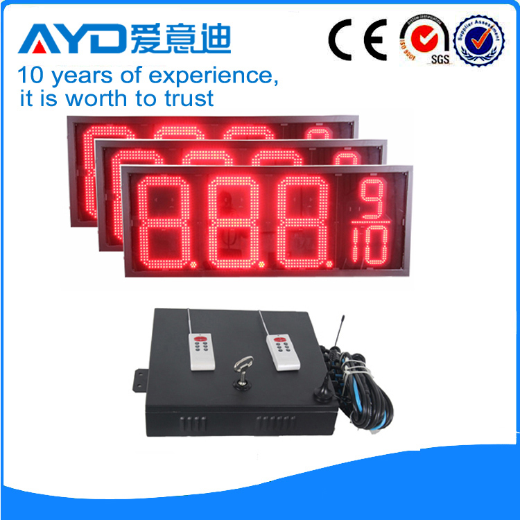 20 Inch Red Price  LED Signs