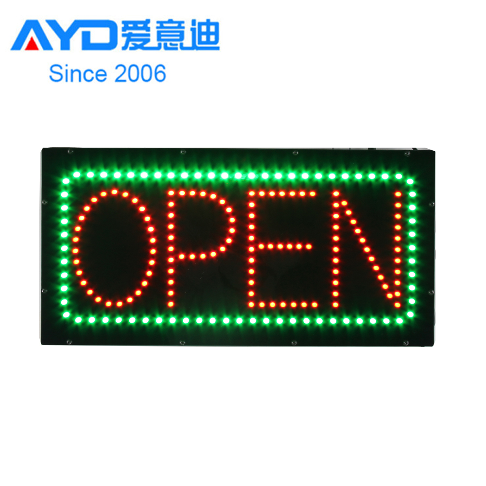 Factory Price Acrylic Flash LED Open Signs-HSO1295-1