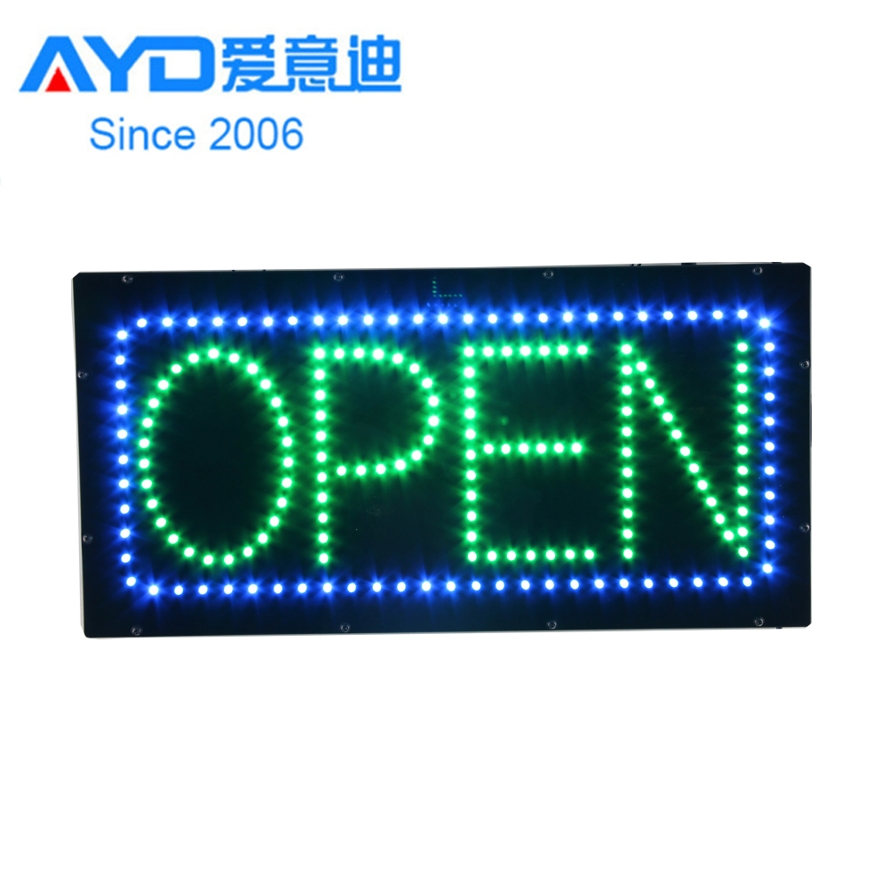 12*24Inch Moving LED Open Signs-HSO1295-3